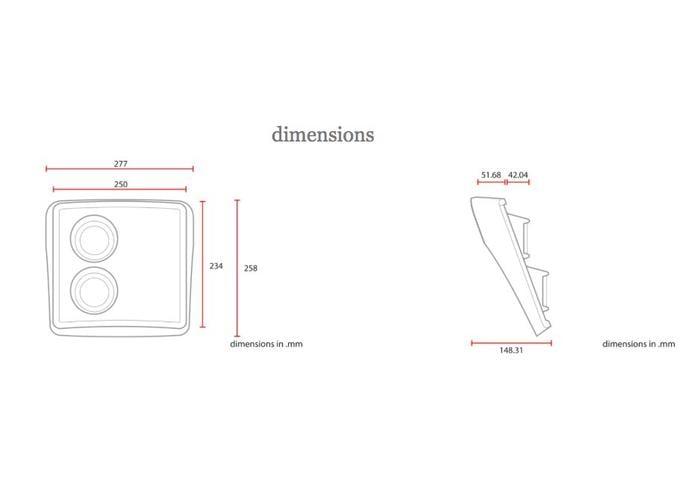 C.Racer Flat Track Kuip / Nummerplaat Inclusief Koplamp