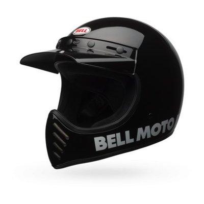 Bell Moto-3 Classic Helm Zwart