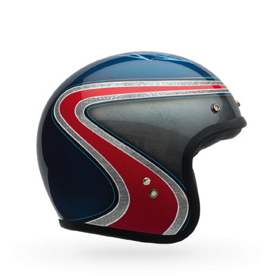 Bell Custom 500 AS Special Edition Airtrix Blue/Red