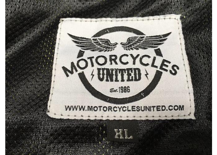 Motorcycles United Kevlar Hoodie + Protectoren - Zwart