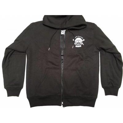 MCU Kevlar Hoodie + Protectoren - Zwart