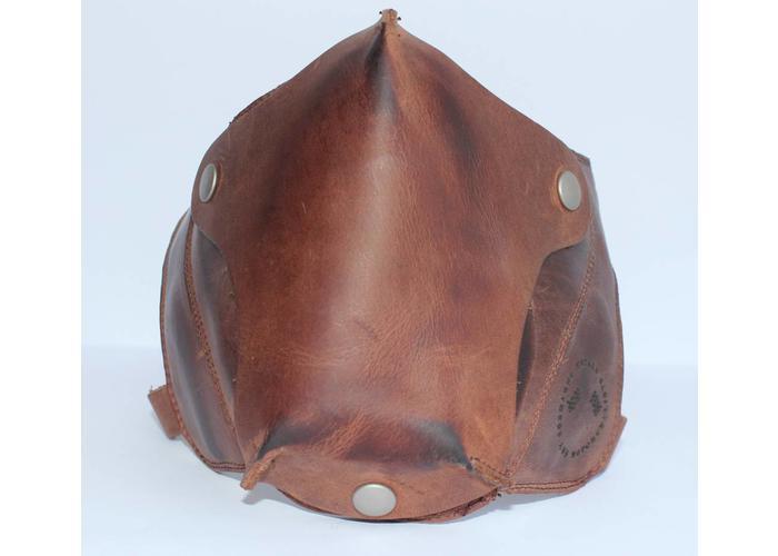 Cafe Racer Masker Leder - Vintage