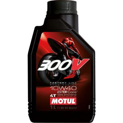 Motul 300V 10W40 4T 1 Liter 100% Synthetic