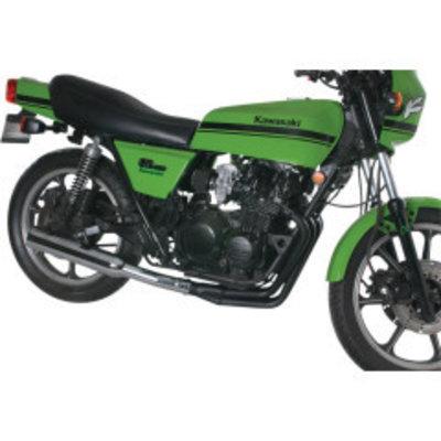 MAC Exhausts Kawasaki KZ550 4-in-1 uitlaatsysteem Megaphone Zwart/Chroom
