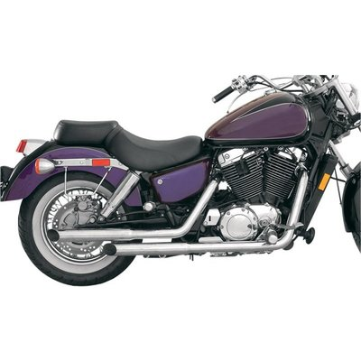MAC Exhausts Honda VT 1100 Ace Uitlaat Staggered Slash Cut