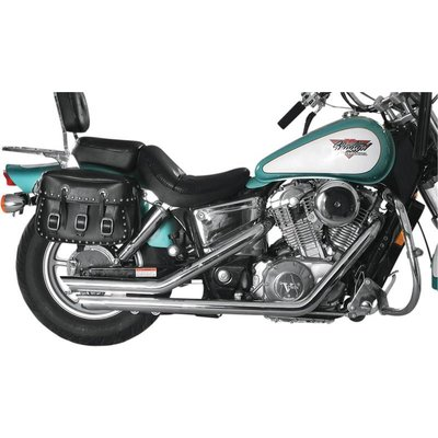 MAC Exhausts Honda VT 1100 Uitlaat Drag Pipes Slash Back