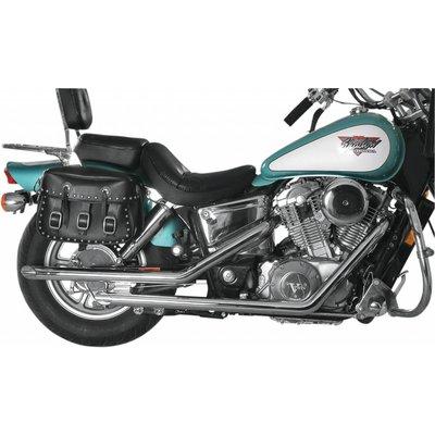 MAC Exhausts Honda VT 1100 Exhaust Drag Pipes Slash Cut