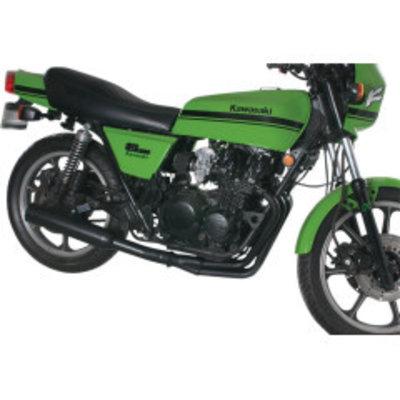 MAC Exhausts Kawasaki KZ900 / 1000 4-in-1 uitlaat zwart