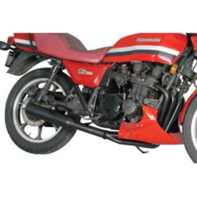 MAC Exhausts Kawasaki KZ650 / 750 4-in-1 uitlaat zwart