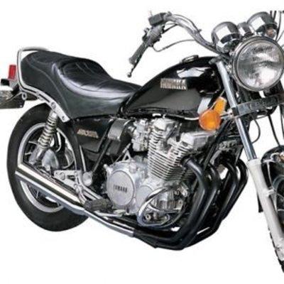 MAC Exhausts Yamaha XJ 5500 4-in-1 uitlaat megaphone