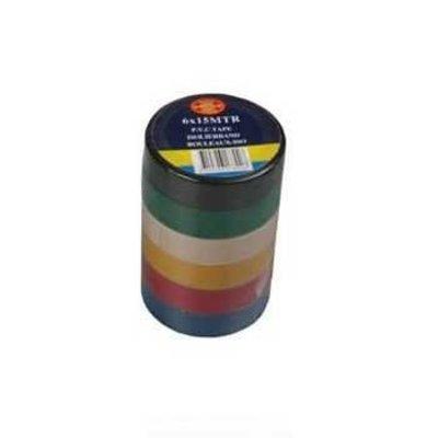 PVC Tape 6 x 15 m Kleur