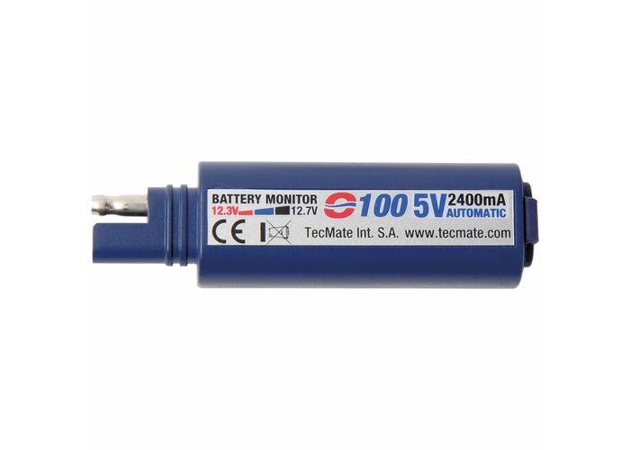 Tecmate Optimate Universal USB Lader, SAE Connectie
