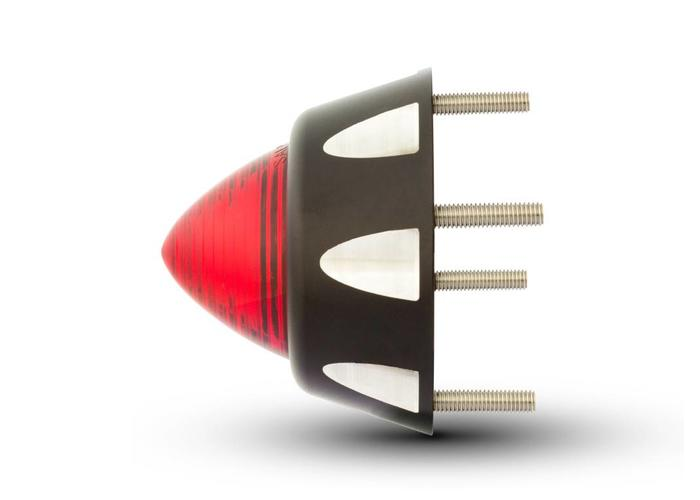 Beehive CNC Rem/Achterlicht Zwart