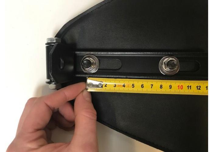Bobber Seat Compleet Zwart Slimline