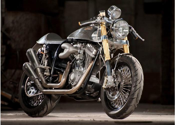 """Buell """"Buton"""" caferacer"""