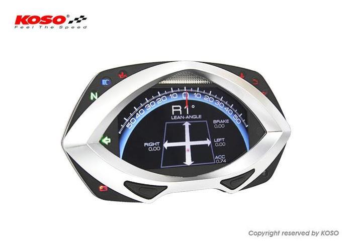 KOSO RXF met High-tech TFT LCD Display BA044000