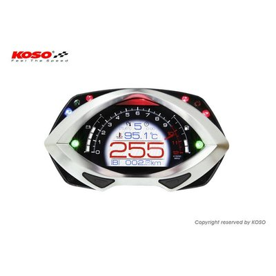 KOSO RXF met High-tech TFT LCD Display BA044000