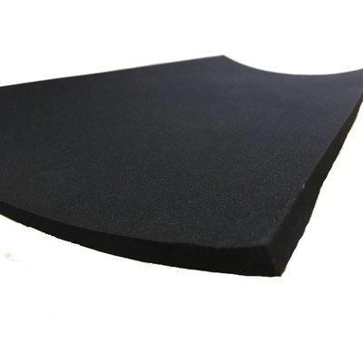 Neopreen 500x250x10MM Schuim voor zitje + Zelfklevende Laag
