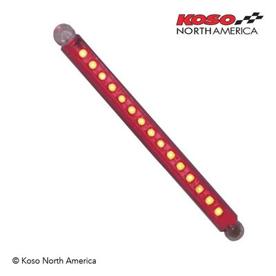 KOSO LED BAR 114 mm ROOD