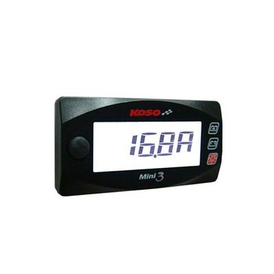 KOSO Amp & Volt Meter Mini 3 (Met Backlight)