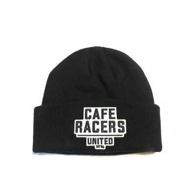 Motorcycles United Cafe Racers Docker Muts Black