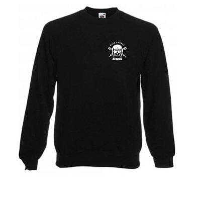 MCU Sweater Cafe Racers United Zwart