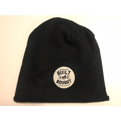 Motorcycles United Built not bought Beanie Zwart