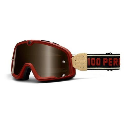 100% The Barstow Legend Classic red Goggle