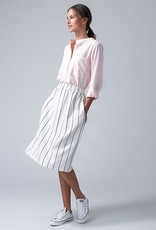 Dutchess Pocket shirt - pink neon stripe
