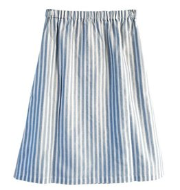 Dutchess Lucky skirt - lightblue stripe