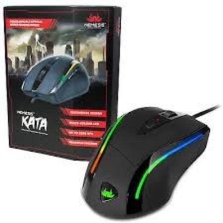 Sumvision Nemesis Kata programmeerbare  LED Gaming Muis KATA 3200Dpi