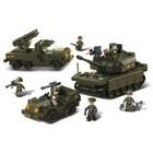Sluban Bouwstenen Army Series Legerset