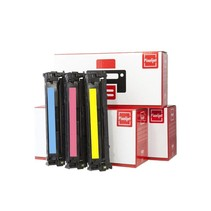 Pixeljet HP 124A toner 3 stuks (Q6001-Q6002-Q6003) (Cyaan, Magenta, Geel)   Pixeljet