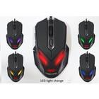 Sumvision Nemesis Zark LED gaming muis met 7 LED kleuren en verstelbare DPI 400 800 1600 2400