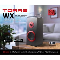 Torre WX WiFi & Bluetooth Draadloze Tower Speaker