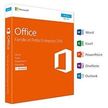 Microsoft Office 2016 Home & Business - Windows (French)