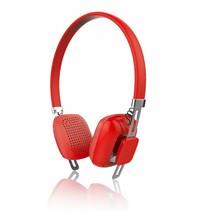 PSYC Orchid Draadloze Bluetooth hoofdtelefoon - Rood