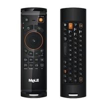 Mele F10 Deluxe 2.4GHz Fly Air Mouse draadloos QWERTY toetsenbord afstands bediening met IR Leerfunctie voor Android TV Box / Notebook / PC & MAC