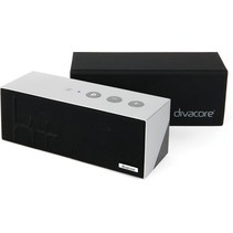 Divacore Ktulu II+ - BLuetooth Speaker - Powerbank - 35 uur speeltijd -Zilver