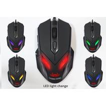 Nemesis Zark LED gaming muis met 7 LED kleuren en verstelbare DPI 400 800 1600 2400 -2018