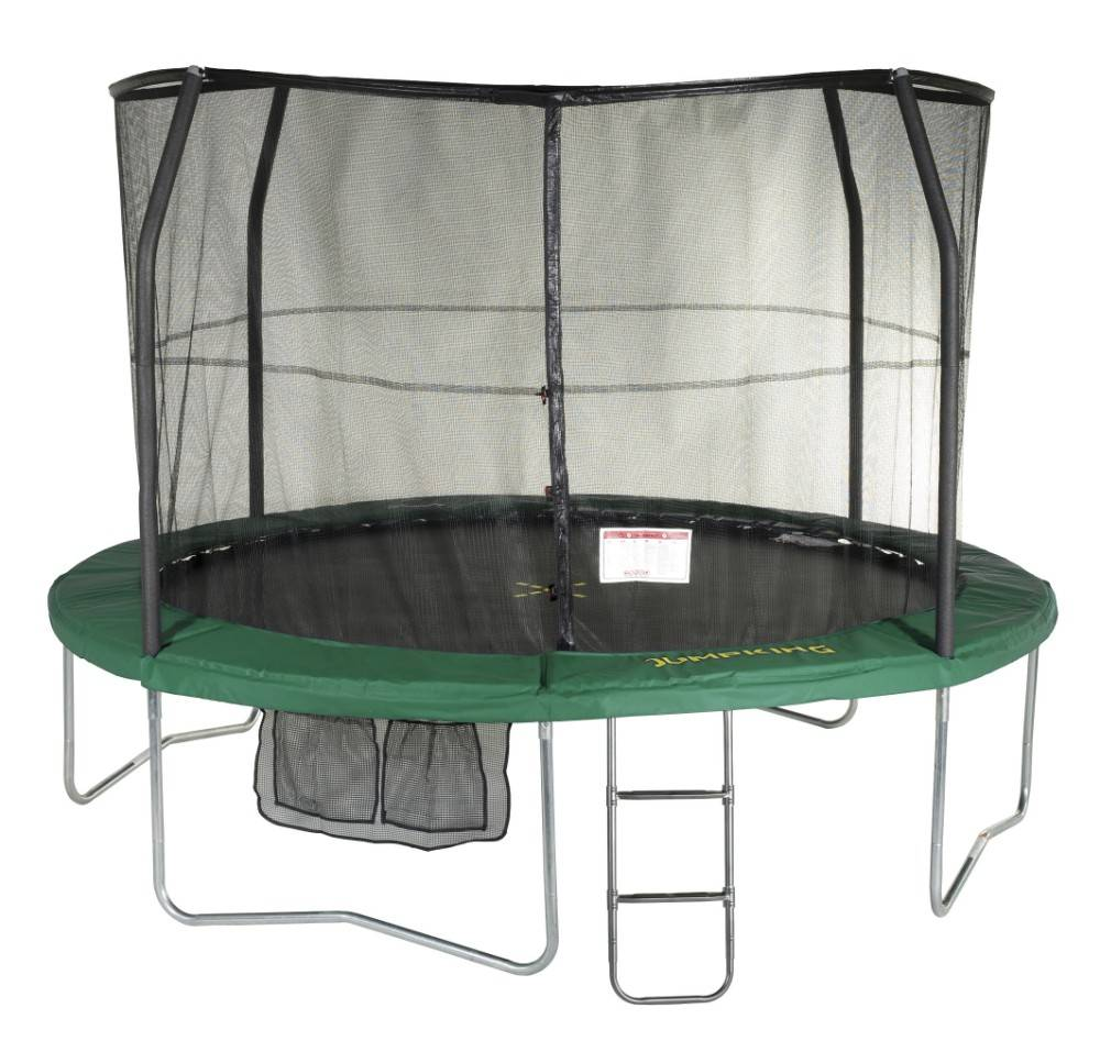 JumpPOD Deluxe 370 pôles pliés filet