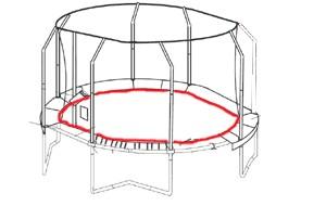 Bâton G3 inférieur du JumpPOD Oval 520