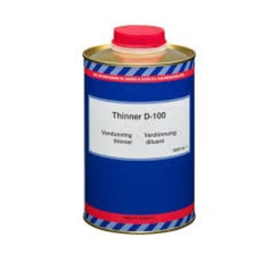 Epifanes D100 verdunner thinner 1 liter