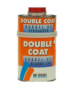 Double Coat Dubbel UV Blanke lak 750 ml