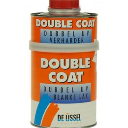 De IJssel Double Coat Dubbel UV Blanke lak 750 ml