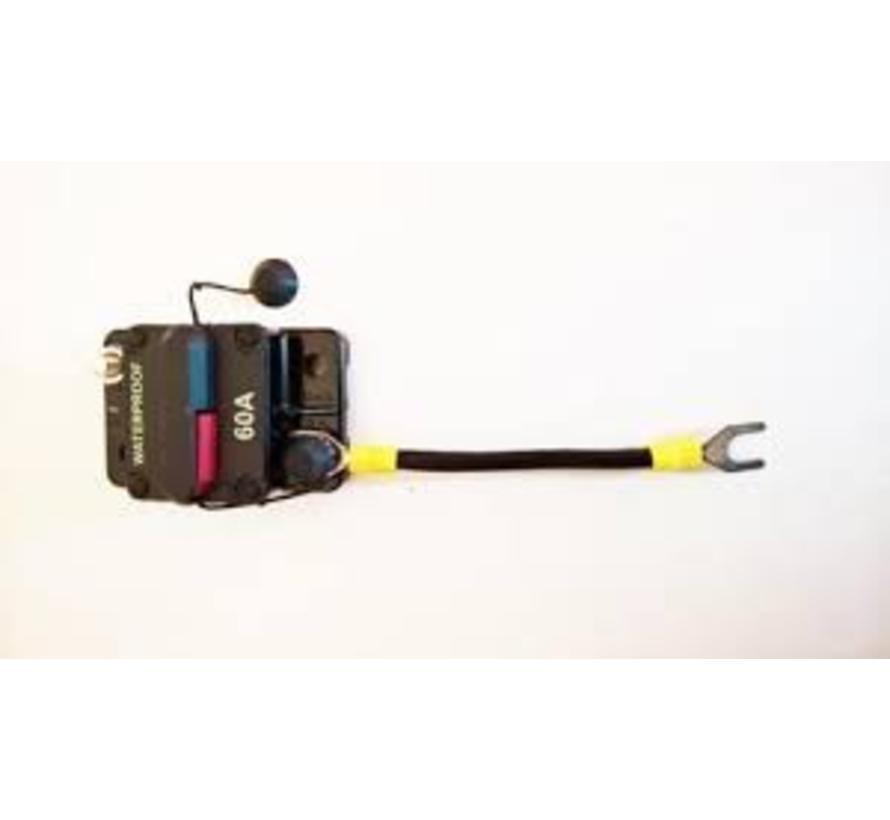 Beveiligingszekering Elektrische buitenboordmotor, Protecting Switch