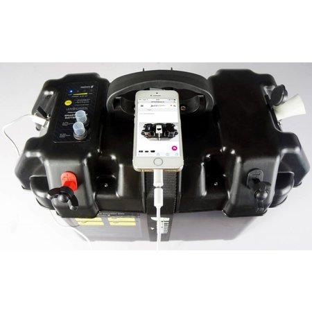 Talamex Smart power battery box met usb en aanstekeraansluiting