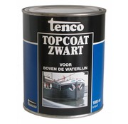 Tenco Topcoat Zwart (vanaf 1 liter)