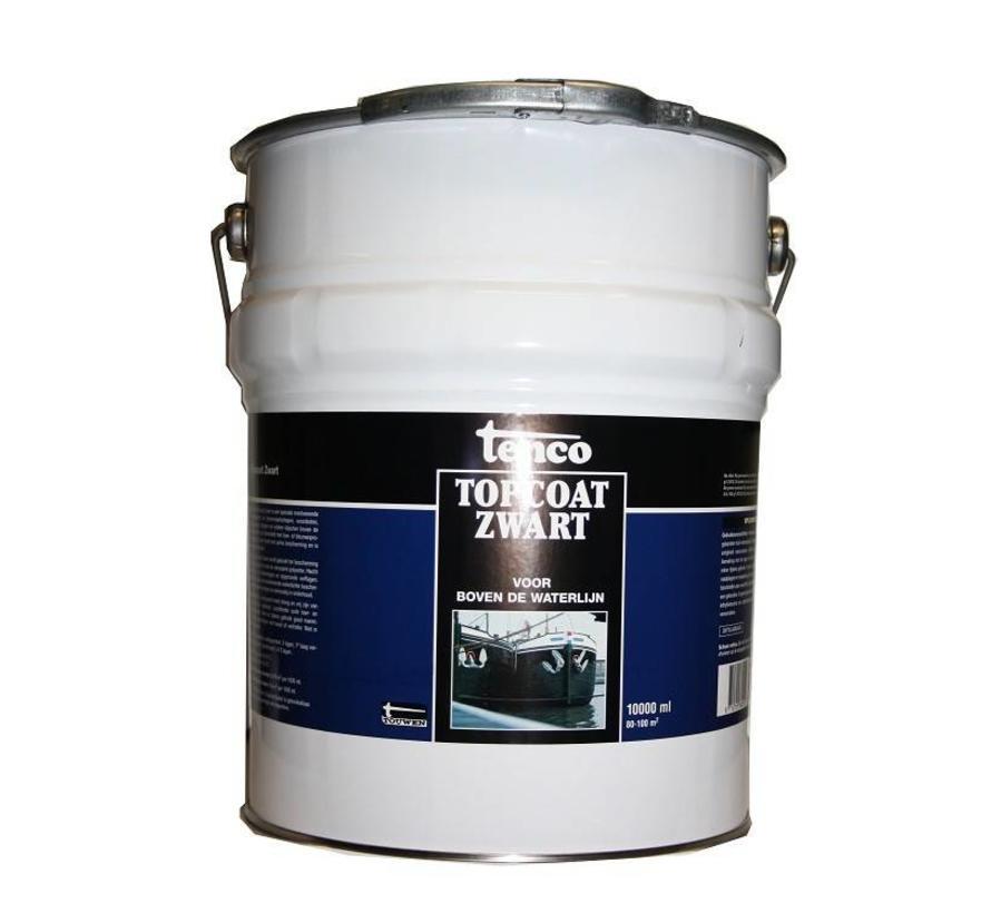 Topcoat Zwart (vanaf 1 liter)