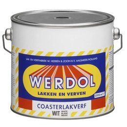 Werdol Coasterlakverf (2 of 4 liter)